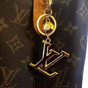 Louis Vuitton Porte CLES LV FACET Key Holder